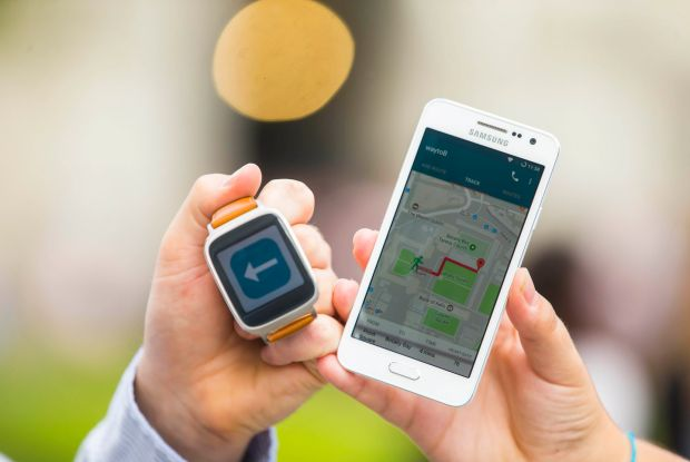 way2B also integrates walking instructions with public transport and allows a carer to live track a user's location, heart rate and battery usage