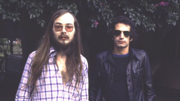 Walter Becker: the Steely Dan songwriter with Donald Fagen in 1977. Photograph: Chris Walter/WireImage/Getty