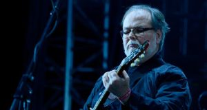 Walter Becker: the Steely Dan songwriter at the Coachella festival in 2015. Photograph: Frazer Harrison/Getty