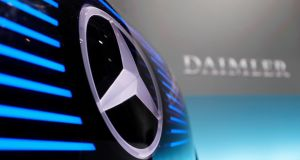 Daimler: Investing in personal car rental 'marketplace' Turo, a San Francisco-based company. Photograph: EPA.