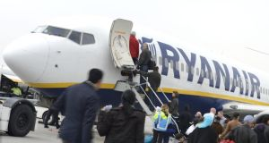 "€5 bag fee: Ryanair says only passengers who pay for priority boarding will be able to bring a wheelie bag aboard. Photograph: Lex Van Lieshout/AFP/Getty As part of its ""Always Getting Better"" programme Ryanair had allowed passengers to carry one wheelie or other standard cabin bag and one small bag, such as a handbag, laptop bag or shopping bag, on board for free."