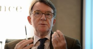 "Peter Mandelson: he says the very union the DUP ""holds so dear could be threatened by the Brexit they have done so much to champion"""