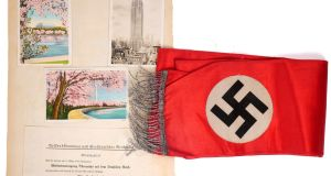 Nine items of Nazi memorabilia will go on auction as part of Whyte's The Eclectic Collector auction on Saturday