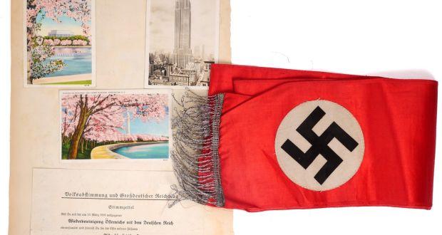 Irish auctioneer defends sale of Nazi memorabilia