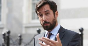 "Minister for Housing Eoghan Murphy: the scrapping of water charges has put the Government into a ""difficult position"".  Photograph: Leah Farrell/RollingNews.ie"