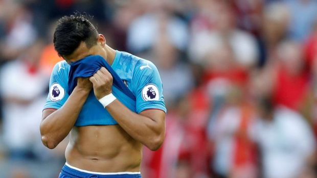 "Alexis Sánchez: ""you get tired of saying to yourself: 'I'll get up again,' "" the Arsenal forward wrote on Instagram. Photograph: Carl Recine/Action Images via Reuters"