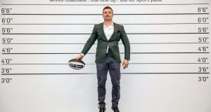 Brian O'Driscoll  promoting the BT Sport line-up on the eir Sport Pack  at eir group headquarters. Photograph: Morgan Treacy/Inpho