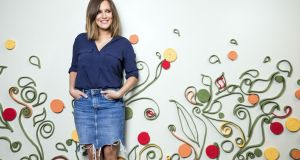 Caroline Flack: 'I try not to look back. It comes up with the job. I never try to play the victim.' Photograph: Tristan Fewings/Getty Images for Zeo