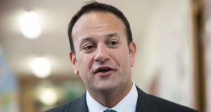 Leo Varadkar said investing in leading-edge scientific and technological research was good for the Irish economy and would deliver 'innovations which can improve our quality of life'. Photograph: Collins