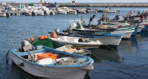 Fishing boats in Olhao