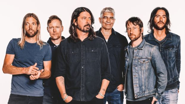 Foo Fighters: 'We've been through funerals and weddings and divorces and lawsuits and Glastonburys and band tours – we have a lot of history together.'