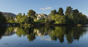 The five-star Sheen Falls Lodge in Kenmare