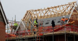 Every increase in homebuilding of about 10,000 units adds about 1 per cent to the level of economic activity. Photograph: Gareth Fuller/PA Wire