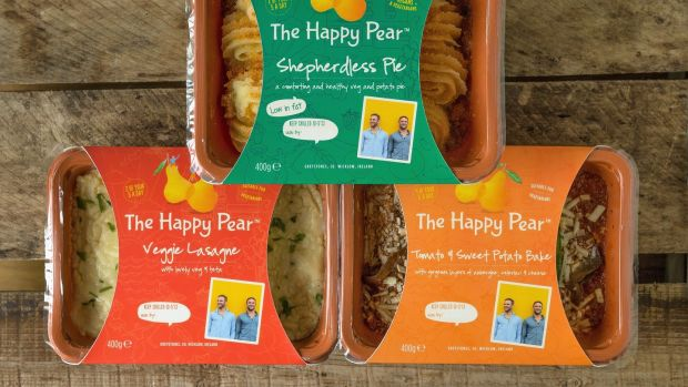 Happy Pear at home: David and Stephen Flynn have launched a tasty range of vegetarian ready meals
