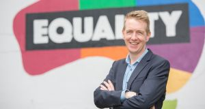 Tiernan Brady, Australians for Equality's national director, is from Bundoran in Co Donegal.