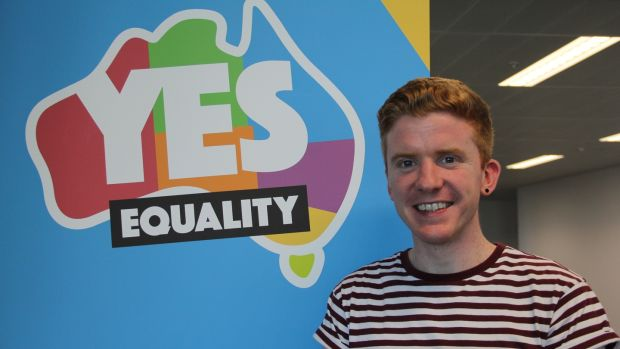 Craig Dwyer from Co Kilkenny is volunteering for a month with Australians for Equality.