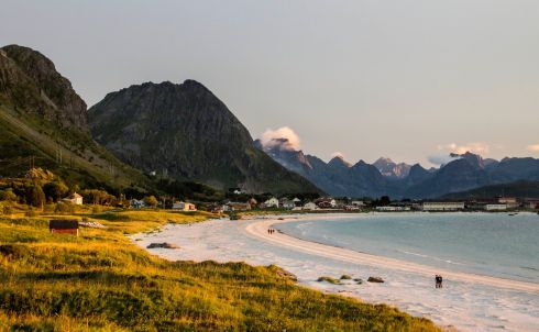 Ramberg, in the Lofoten Islands, Norway.