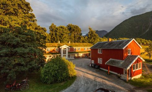 Andalsnes Youth Hostel, Andalsnes, Norway.