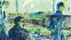 'Railway Refreshment Room' by Jack B Yeats is one of the paintings for sale