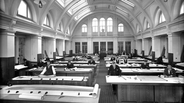 The original Harland & Wolff drawing offices