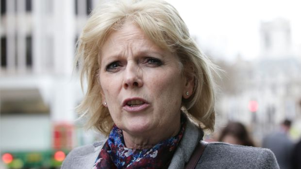 Conservative MP Anna Soubry: said it was wrong to suggest that critics like her were trying to thwart the will of the people, insisting that she accepted that Britain is leaving the EU. Photograph: Yui Mok/PA Wire