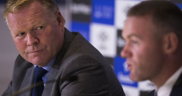 Image result for Ronald Koeman 'very disappointed' at Wayne Rooney over drink-driving charge