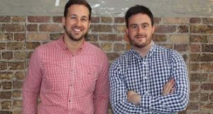 Housemydog co-founders Timothy and James McElroy: their aim is to turn the company into Europe's largest pet services marketplace