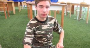 Pavlo Hryb: vanished during a day trip to Belarus last month and resurfaced in a Russian jail facing terrorism charges.