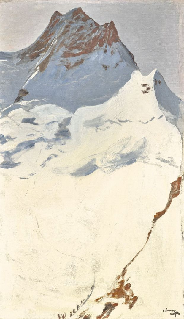 The Summit of Jungfrau by Sir John Lavery