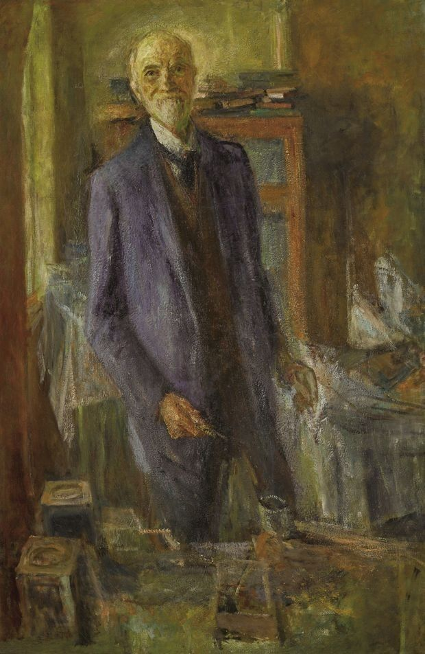 Self-Portrait, New York, by John Butler Yeats