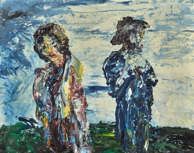 The Sunset Belongs to You by Jack B Yeats