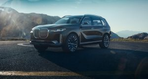 BMW will also bring to Frankfurt the Concept X7 iPerformance, a plugin hybrid concept car that's a pretty thinly disguised version of its upcoming seven-seat rival to the likes of the Volvo XC90 and Range Rover, the X7