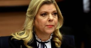 Sara Netanyahu,  wife of Israeli prime minister Binyamin Netanyahu: faces a possible five-year prison term if found guilty of the fraud charges but a fine is the most likely outcome. Photograph: Gali Tibbon/AFP/Getty Images