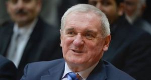 "Bertie Ahern: ""[The British] will increasingly get the backs up of the other 27, excluding Ireland, because we don't want to get in - there's nothing for us to get into a dogfight. We have to stay out of that dogfight.""  File photograph: Getty Images"