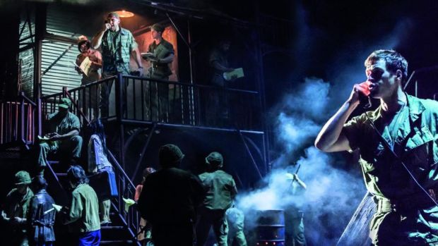 Miss Saigon: the new production features Ashley Gilmour as Chris