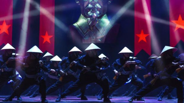 Miss Saigon: the musical has a serious core while existing in the world of entertainment