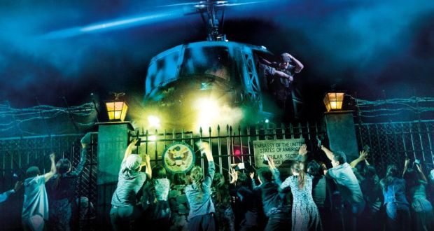 Dancing on a razor blade: The brilliance of Miss Saigon