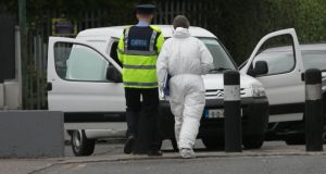 O'Keeffe was arrested on Wednesday following an incident in west Dublin during which shots were fired by officers from the Garda Drugs and Organised Crime Bureau. Photograph: Gareth Chaney/Collins.