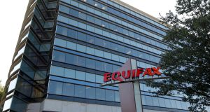 Equifax weighed the most on the S&P, after the provider of consumer credit scores said personal details of as many as 143 million US consumers were hacked. Photograph: Tami Chappell/Reuters