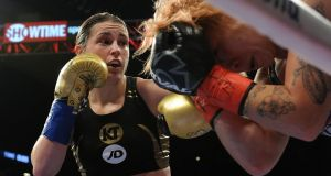 Katie Taylor will fight in Cardiff at the end of October. Photograph: Inpho
