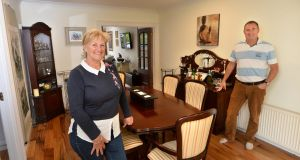 Anne and Martin Croft at their home in Ailesbury Grove, Dundrum in Dublin. Photograph: Dara Mac Dónaill/The Irish Times