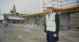 Simon Coveney: Minister for Foreign Affairs and former housing minister was quick to welcome Horgan's Quay development in Cork City.