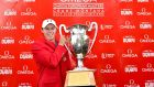 Matthew Fitzpatrick beat Scott Hend in a playoff to take the European Masters title. Photograph: Stuart Franklin/Getty