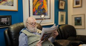 Tony Hennessy at home in Monaghan. Photograph: Rory Geary