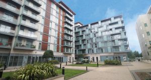Time Place: the six one-bed apartments for sale come with car-parking spaces