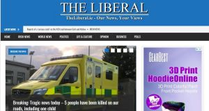 Owner of The Liberal.ie Leo Sherlock agreed not to repeat the copyright breaches. Image: Screengrab from TheLiberal.ie