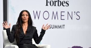 Kim Kardashian:  'Vogue' quoted a plethora of just some of the frightening-sounding treatments required to achieve a body in the Kardashian style. Photograph: Angela Weiss/AFP/Getty Images