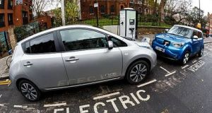 If our motor transport is to be electrified the Government is going to have a big hole in its coffers. Photograph: Getty Images