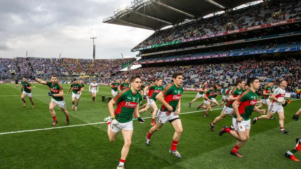 Mayo have the capacity with their physical prowess and tactical boldness to bring this splendid Dublin team into a new area of engagement. Photograph: Cathal Noonan/INpho