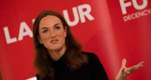 Dr Rhona Mahony at Labour Party think-in. Photograph: Eamonn Farrell/RollingNews.ie